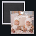 "Personalized Photo Magnets for Grandparents<br><div class=""desc"">Create beautiful and unique gifts for grandparents by customizing this photo magnet. Easily personalize with your own text for any occasion.</div>"