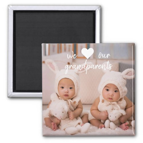 Personalized Photo Magnets for Grandparents