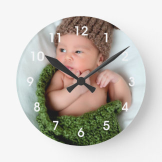 Personalized Photo Make It Yourself Wall Clock
