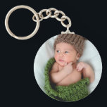 "Personalized Photo Make It Yourself Keychain<br><div class=""desc"">Add your own photo to create a personal gift that will be cherished and a keepsake.  This works great for newborn baby,  kids and family photos.</div>"