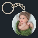 """Personalized Photo Make It Yourself Keychain<br><div class=""""desc"""">Add your own photo to create a personal gift that will be cherished and a keepsake.  This works great for newborn baby,  kids and family photos.</div>"""
