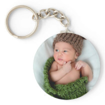 Personalized Photo Make It Yourself Keychain