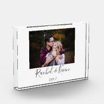 Personalized Photo & Message Acrylic Keepsake Acrylic Award