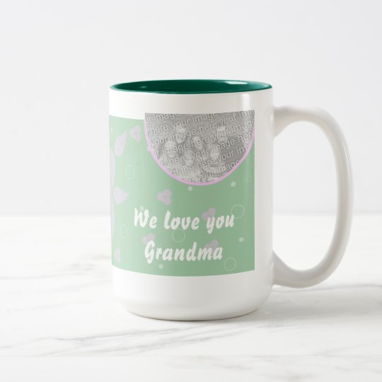 Personalized Photo Mug Grandma