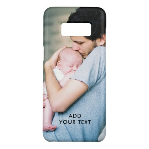 Personalized Photo Name Initial Monogram Custom Phone Case