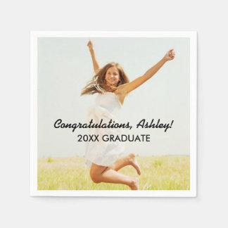 Personalized Photo Napkins | Congratulations