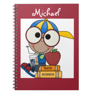 Personalized/Photo Notebook/School Boy Notebook