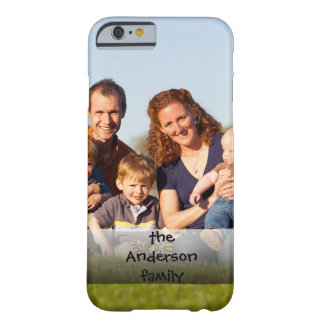 Personalized Photo Phone Case Barely There iPhone 6 Case