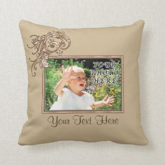 Personalized Photo Pillows YOUR PHOTO and TEXT