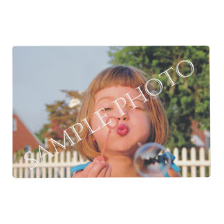 Personalized photo placemat. Make your own! Placemat