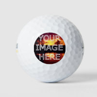 Personalized Photo Printed Golf Balls