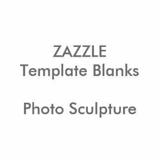 Personalized Photo Sculpture Button Blank Template