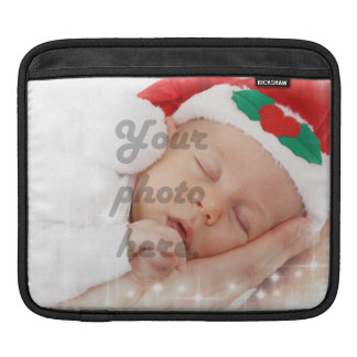 Personalized photo sleeve for iPads