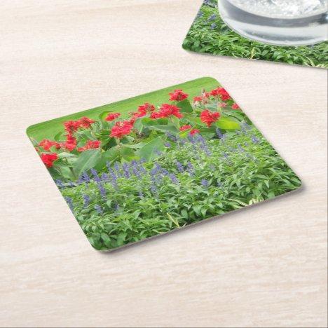 Personalized Photo Square Paper Coaster