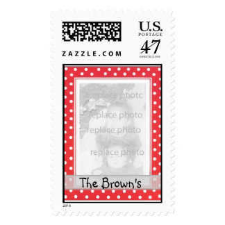 Personalized photo Stamps Template