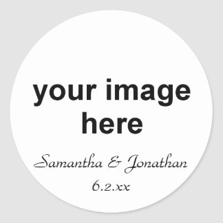 Personalized Photo Sticker
