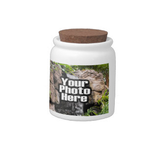 Personalized Photo Storage Jar, Create Your Own Candy Jar