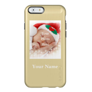 Personalized photo template and name incipio feather shine iPhone 6 case