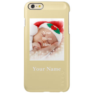 Personalized photo template and name incipio feather shine iPhone 6 plus case