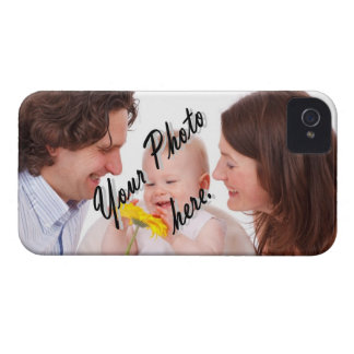 Personalized photo template iPhone 4 case