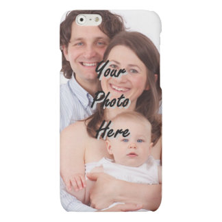 Personalized photo template matte iPhone 6 case