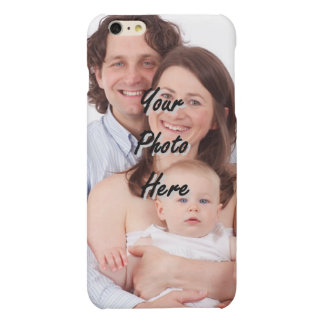 Personalized photo template matte iPhone 6 plus case