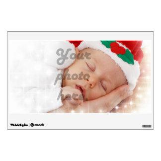 Personalized photo wall sticker
