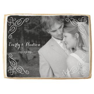 Personalized Photo Wedding Jumbo Cookie