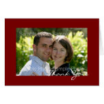 Personalized Photo Wedding Thank You Cards