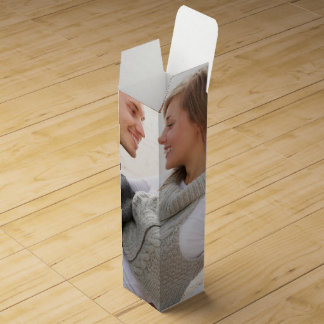 Personalized photo wine box Make your own!