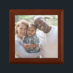 "Personalized Photo Wooden Keepsake Box<br><div class=""desc"">Turn your favorite memory into a keepsake that will last for years to come.</div>"