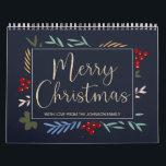 "Personalized Photos Christmas Calendar<br><div class=""desc"">Personalized Photos Merry Christmas Calendar. Add your own photos - one photo for each month. Wonderful Christmas gift idea for family & friends.</div>"