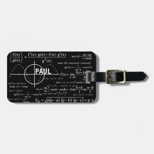 physics equations luggage bag tags zazzle