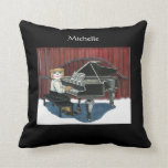Personalized Pianist Pillow
