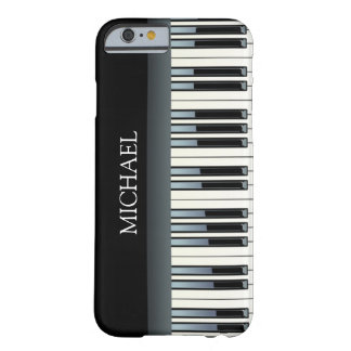 Personalized Piano Keys Barely There iPhone 6 Case