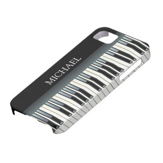Personalized Piano Keys iPhone SE/5/5s Case