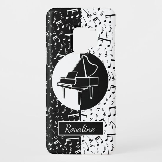 Personalized Piano lover art Case-Mate Samsung Galaxy S9 Case