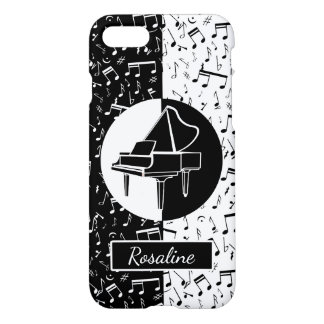 Personalized Piano lover art iPhone 8/7 Case