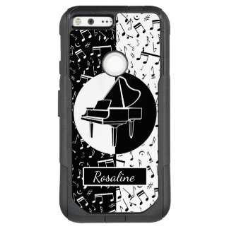 Personalized Piano lover art OtterBox Commuter Google Pixel XL Case