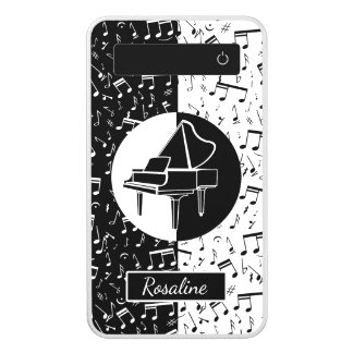 Personalized Piano lover art Power Bank