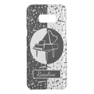 Personalized Piano lover art Uncommon Samsung Galaxy S8+ Case