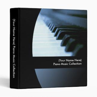 Personalized Piano Music Binder