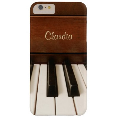 Personalized Piano Music iPhone 6 Plus Case