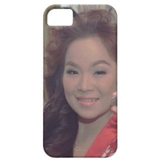 Personalized Pictorial Case with Red and Silver mo iPhone 5 Cover