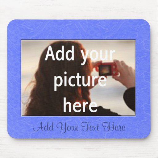 Personalized Picture Frame Mousepad