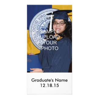 Personalized Picture Graduation Photo Cards