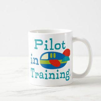 Personalized Pilot in Training Coffee Mugs