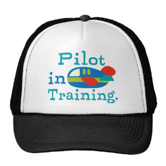 Personalized Pilot in Training Trucker Hat
