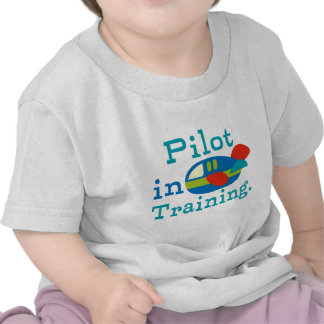 Personalized Pilot in Training Tshirt