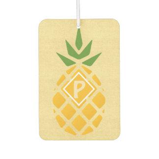 Personalized Pineapple Car Air Freshener